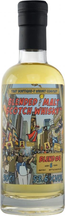 Blended Malt Scotch Whisky #4 TBWC