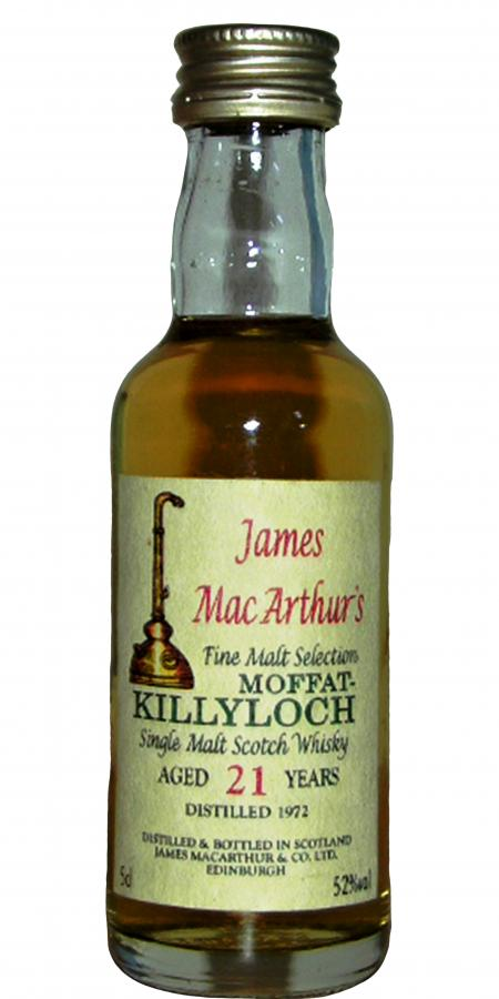 Killyloch 1972 JM