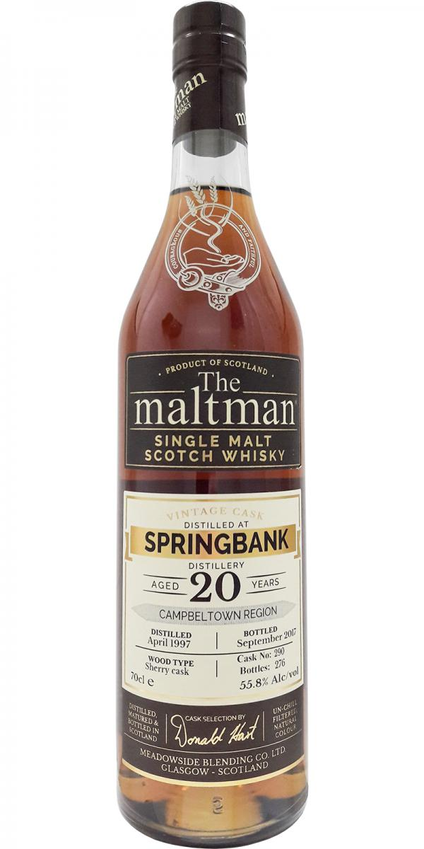 Springbank 1997 MBl
