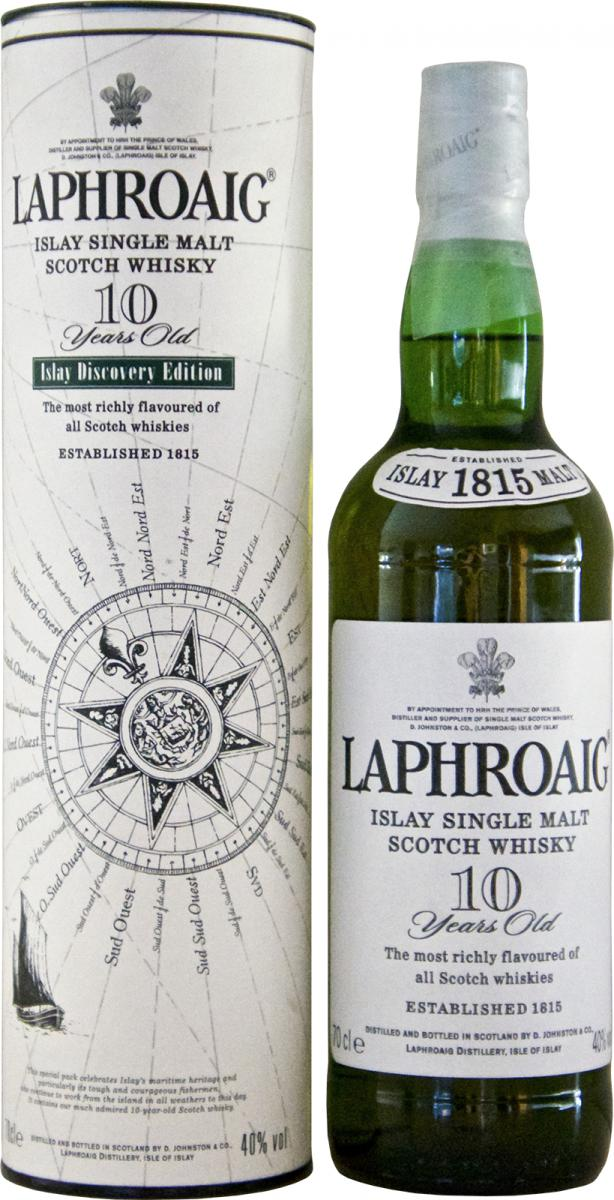 Laphroaig 10-year-old - Islay Discovery Edition