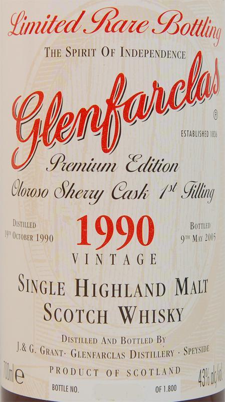 Glenfarclas 1990
