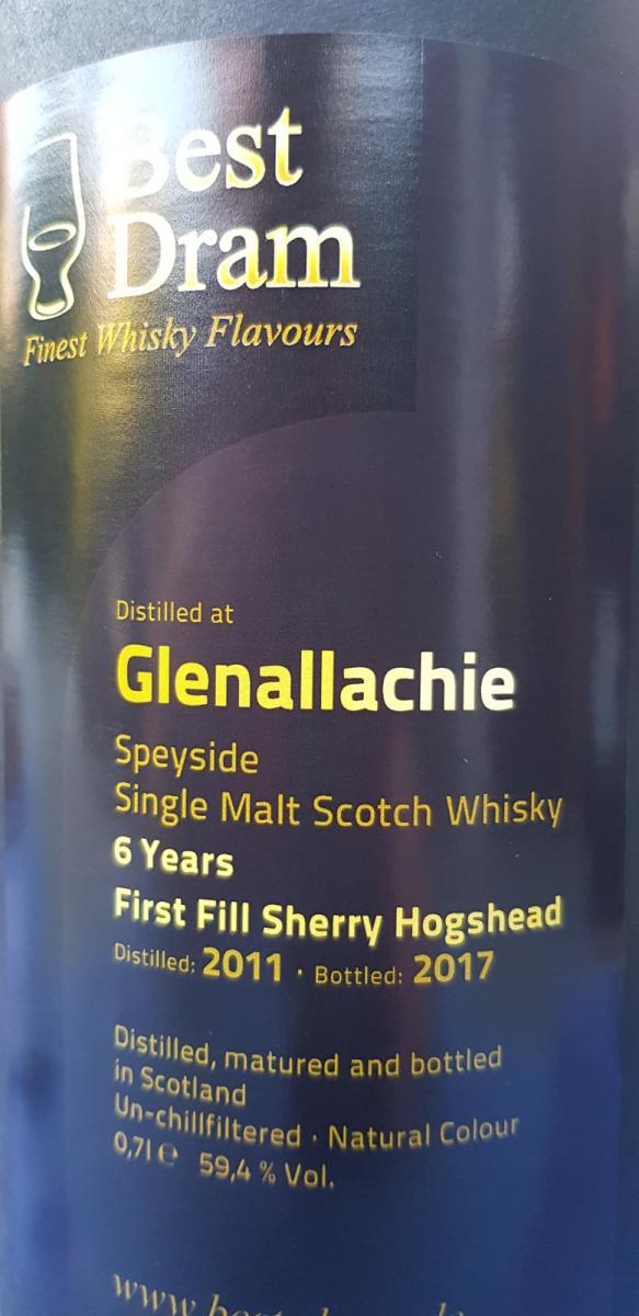 Glenallachie 2011 BD
