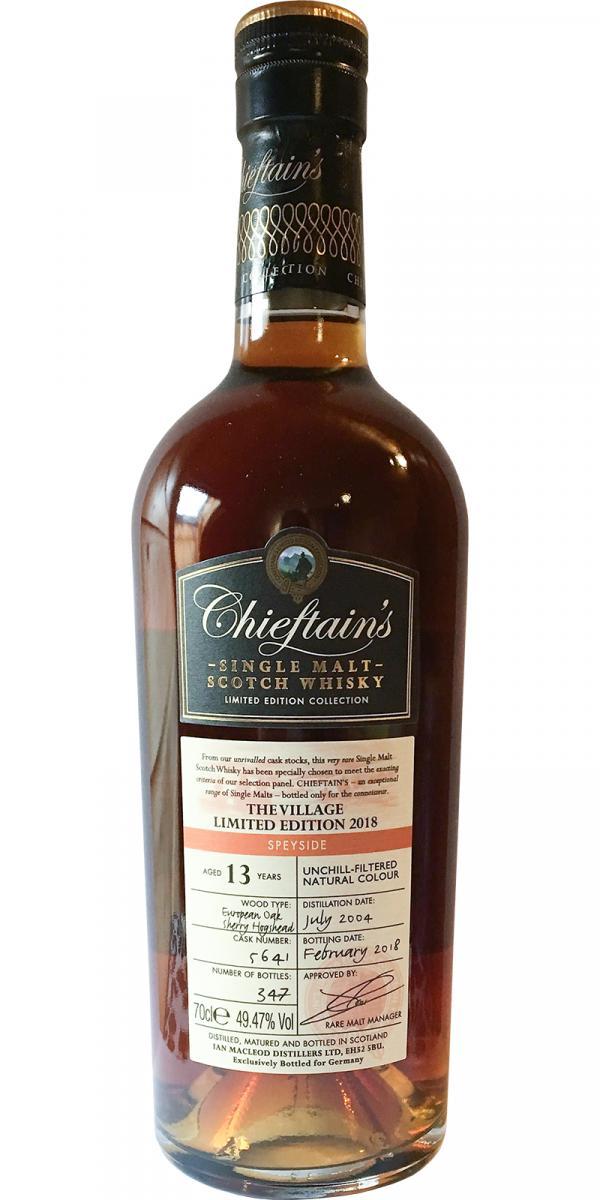 Chieftain's 2004 IM