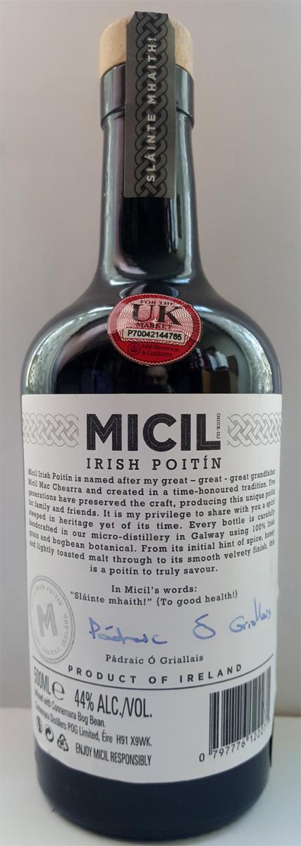 Micil Irish Poitín