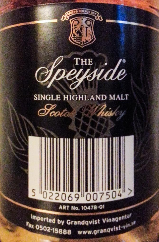 Speyside Distillery 15-year-old