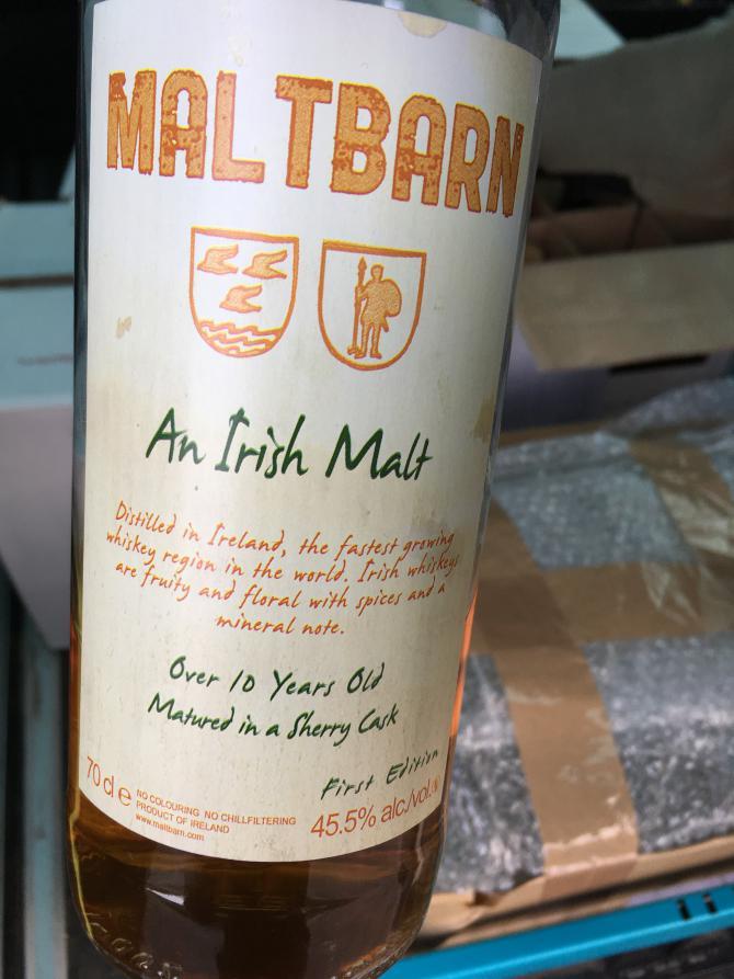 An Irish Malt First Edition MBa