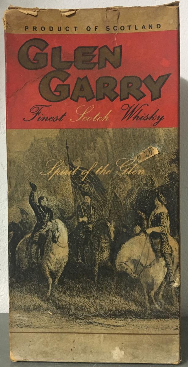 Glen Garry Finest Scotch Whisky
