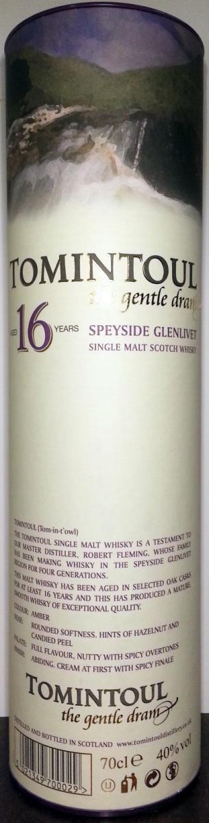 Tomintoul 16-year-old
