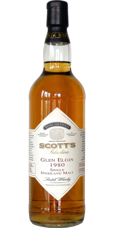 Glen Elgin 1980 Sc