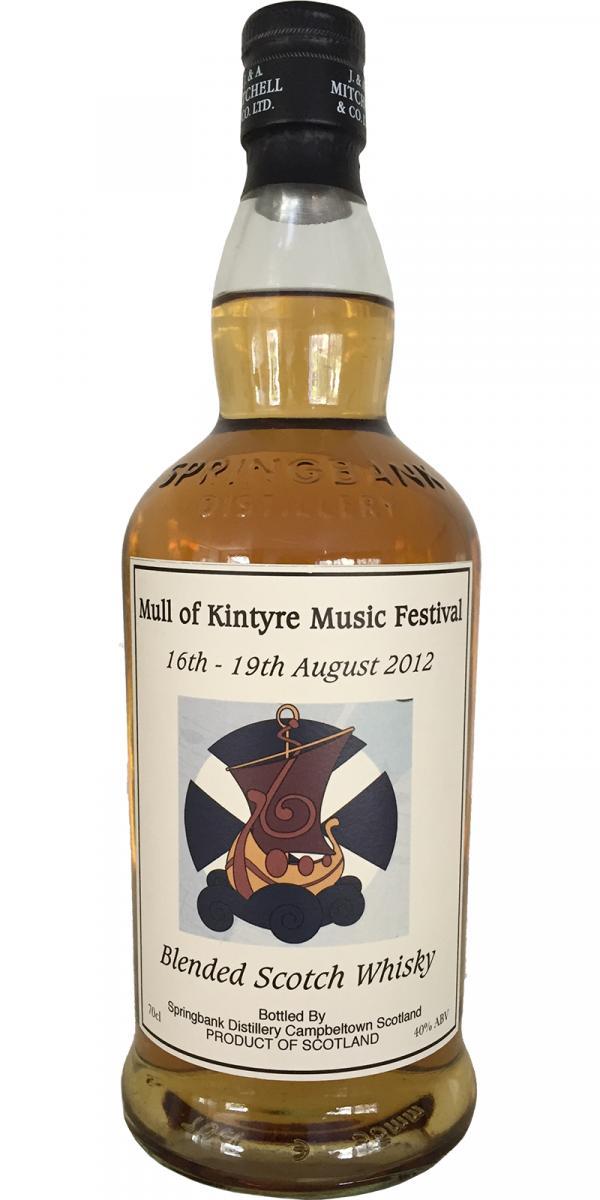 Mull of Kintyre Music Festival 2012
