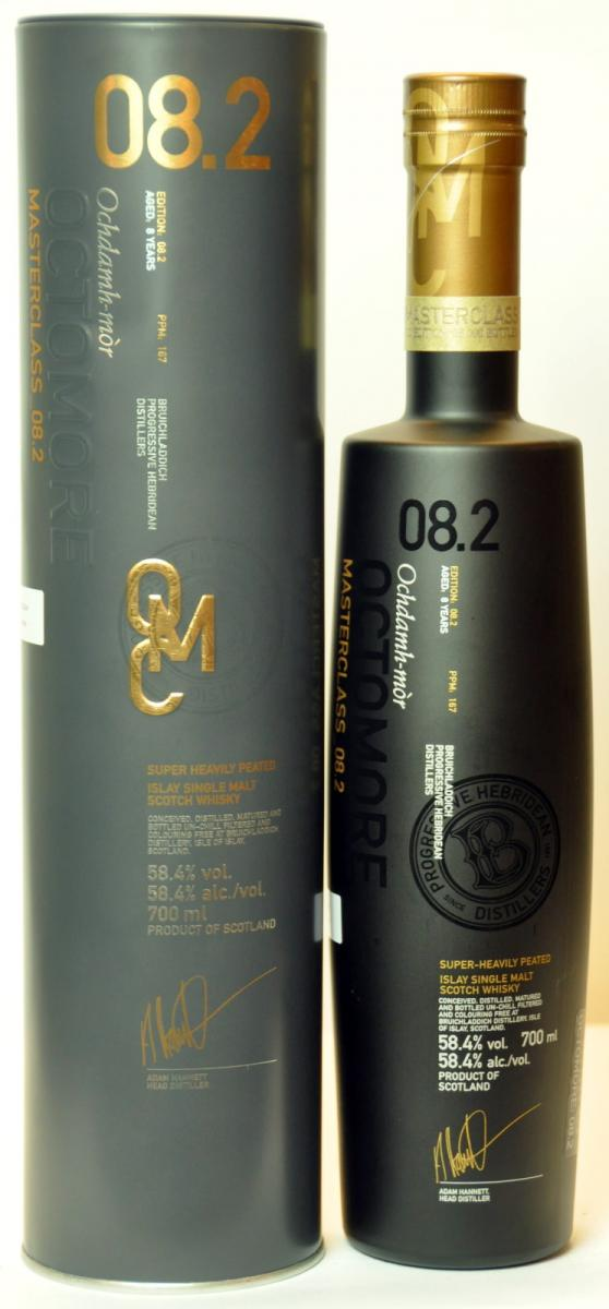 Octomore Edition 08.2 Masterclass / 167 PPM