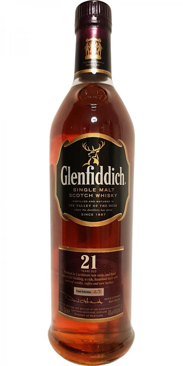 Glenfiddich 21-year-old - Explorers Case