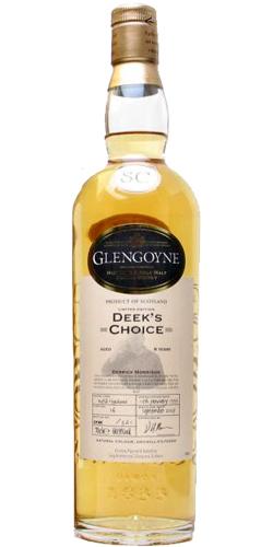Glengoyne 1999 Deek's Choice