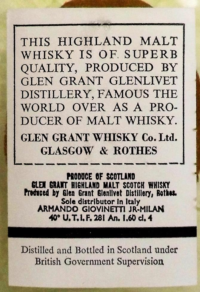 Glen Grant 05-year-old