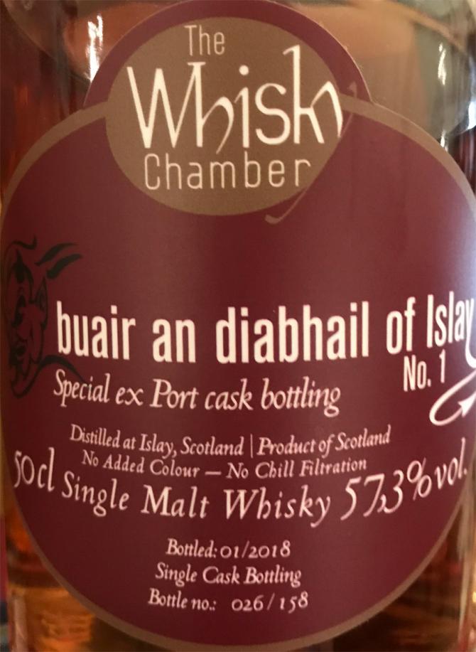 buair an diabhail of Islay Special ex Port cask bottling No. 1