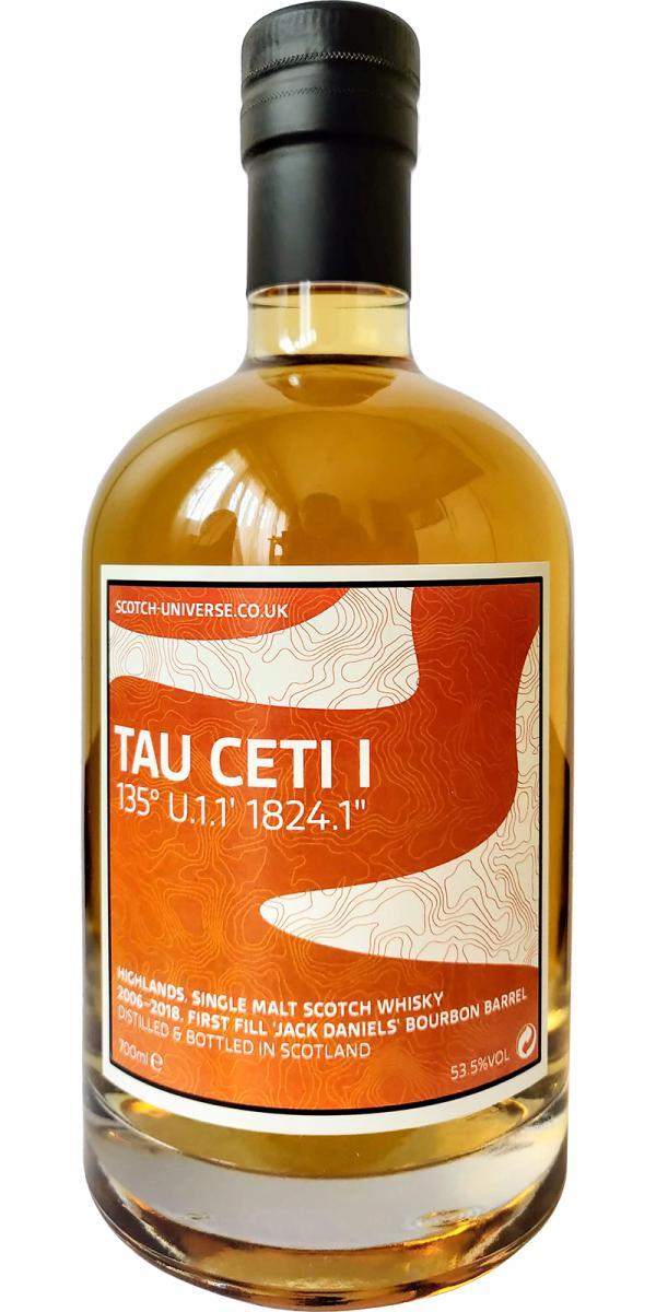 """Scotch Universe Tau Ceti I - 135° U.1.1' 1824.1"""""""