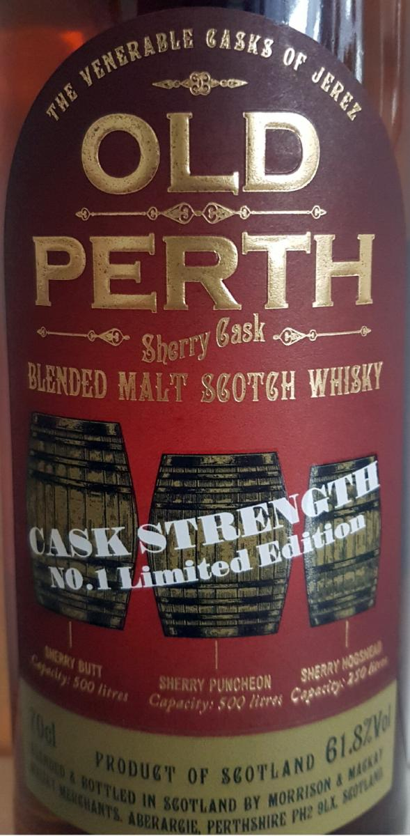 Old Perth Sherry Cask MMcK