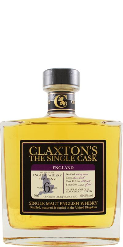 The English Whisky 2011 Cl