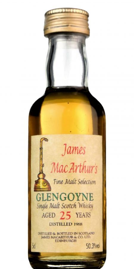 Glengoyne 1968 JM