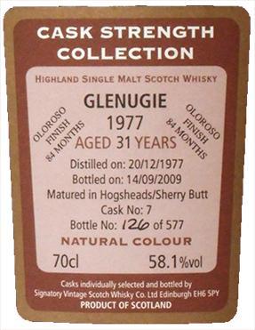 Glenugie 1977 SV
