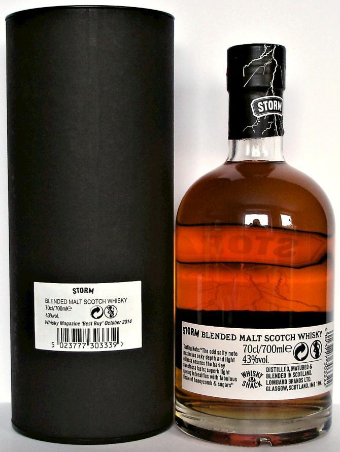 Storm Blended Malt Scotch Whisky