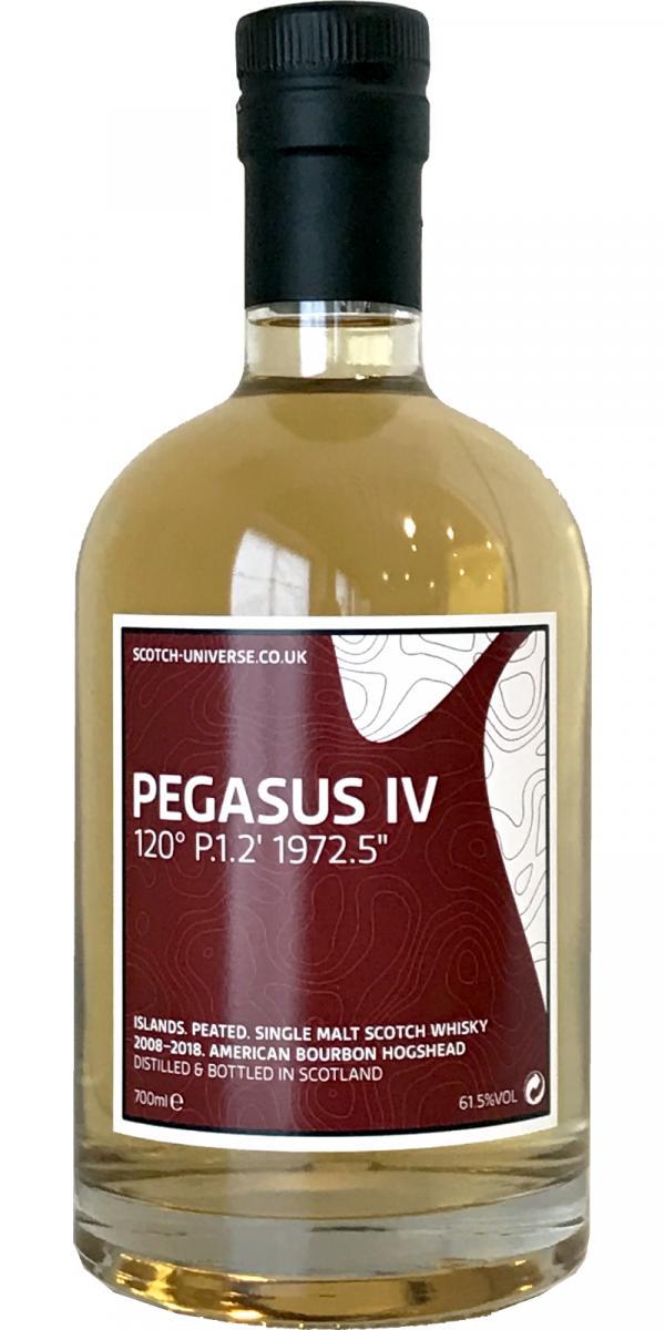 "Scotch Universe Pegasus IV - 120° P.1.2' 1972.5"""