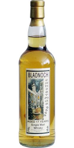 Bladnoch 1992 Christmas Label