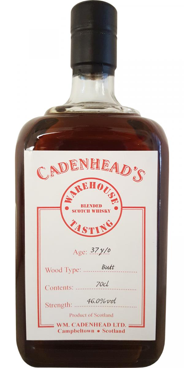 Blended Scotch Whisky 37-year-old CA