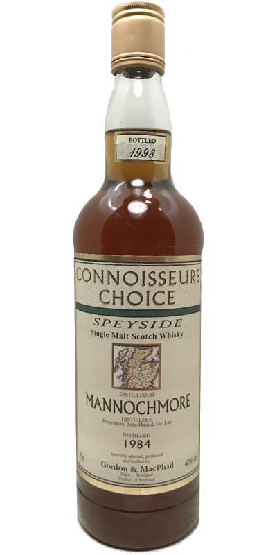 Mannochmore 1984 GM