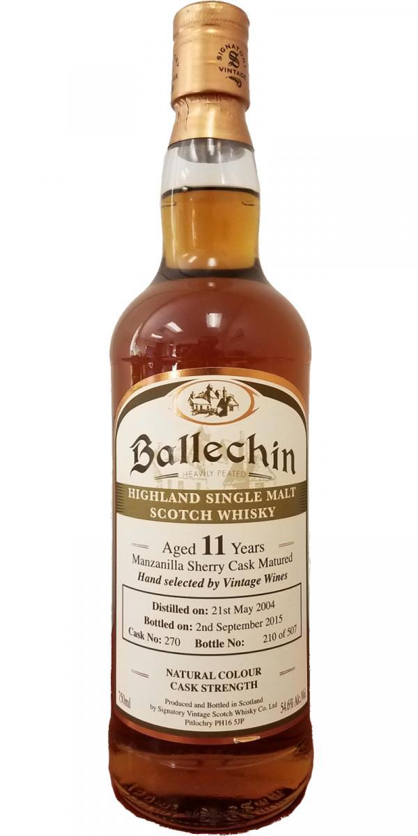 Ballechin 2004 SV