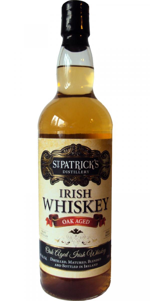 St. Patrick's Oak Aged Irish Whiskey