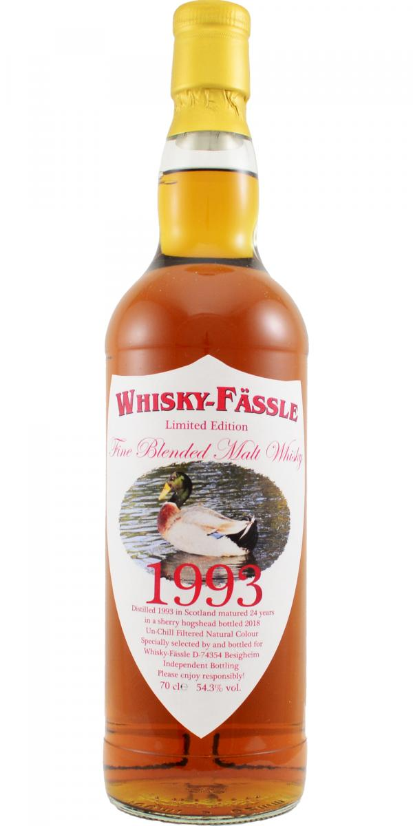 Fine Blended Malt Whisky 1993 W-F
