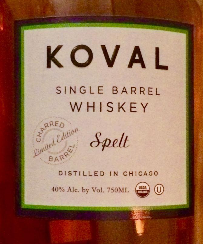 Koval Single Barrel - Spelt