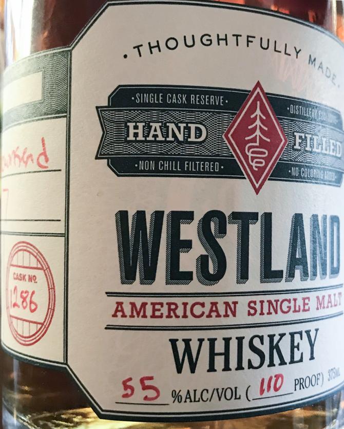 Westland Cask No. 1286