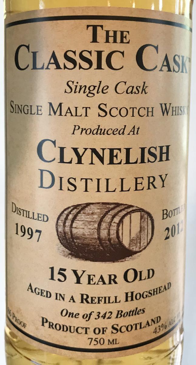 Clynelish 1997 TCC