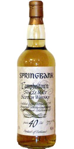 Springbank 1950