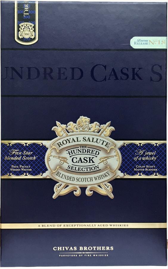 Royal Salute The Hundred Cask Selection