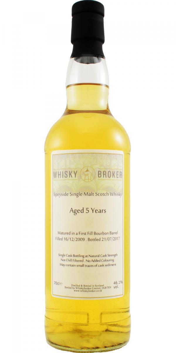Speyside Single Malt Scotch Whisky 05-year-old WhB