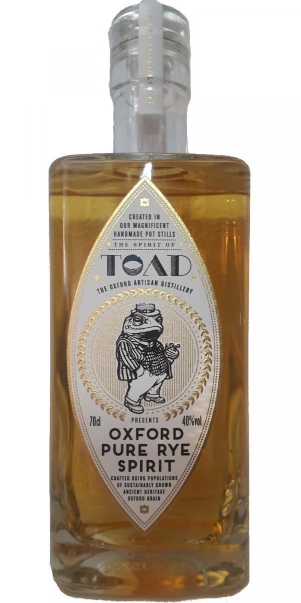 Spirit of TOAD Oxford Pure Rye Spirit