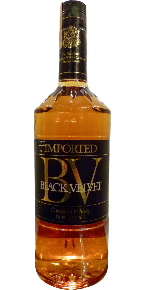 Black Velvet Imported