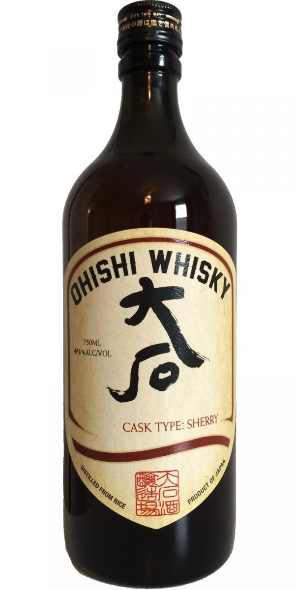 Ohishi Whisky Sherry Cask