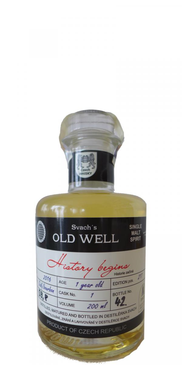 Old Well 2016 - History begins