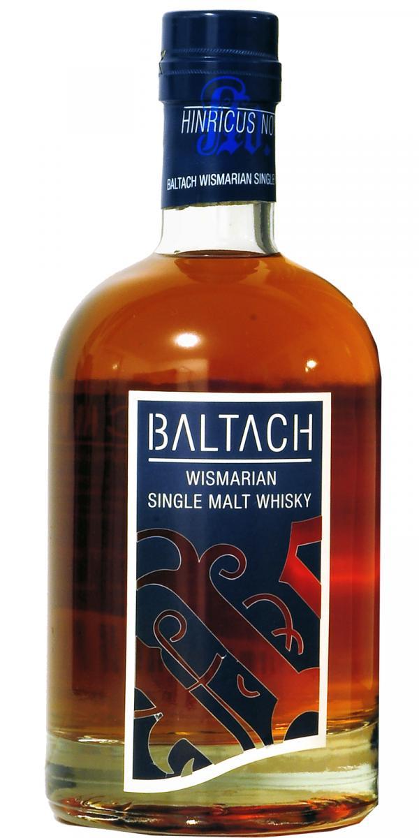 Baltach Wismarian Single Malt Whisky 0,7 ltr.