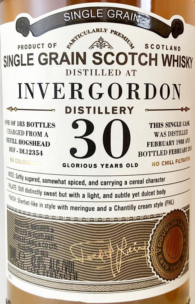 Invergordon 1988 DL