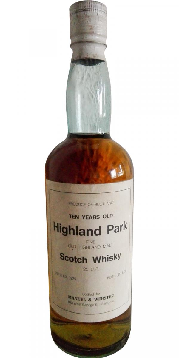 Highland Park 1929