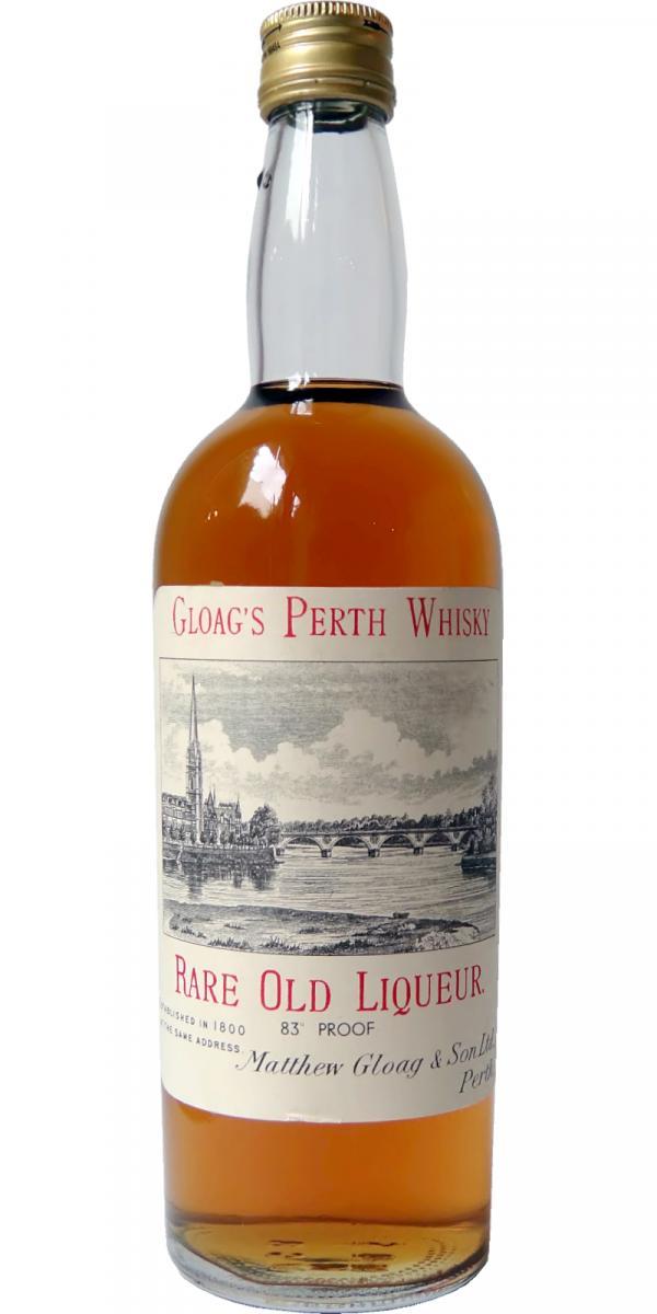 Gloag's Perth Whisky Rare Old Liqueur