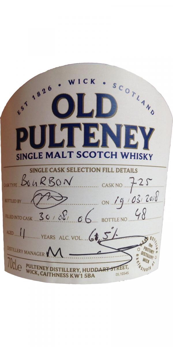 Old Pulteney 2006