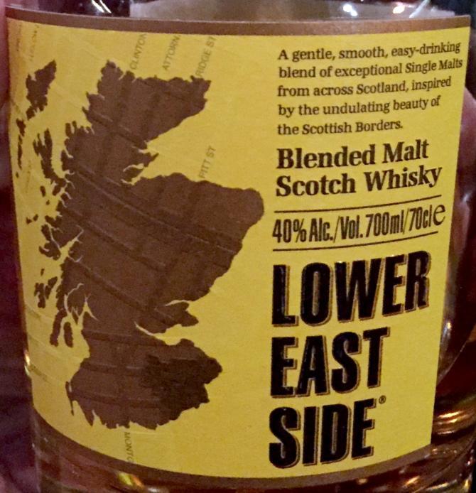 Lower East Side Blended Malt Scotch Whisky