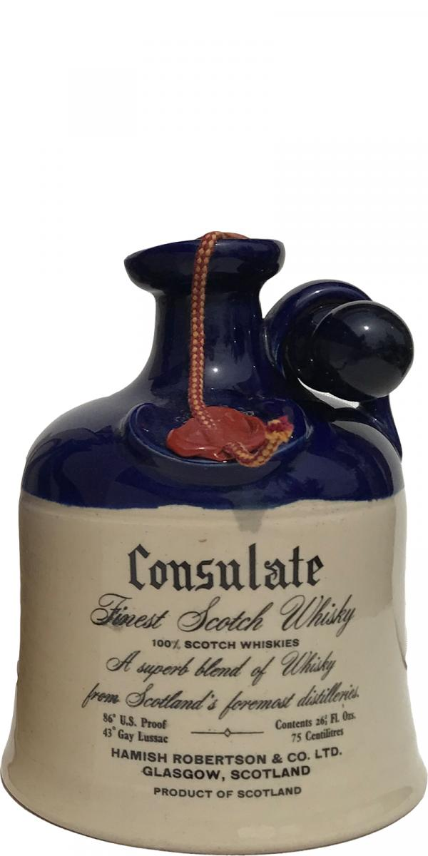 Consulate Finest Scotch Whisky