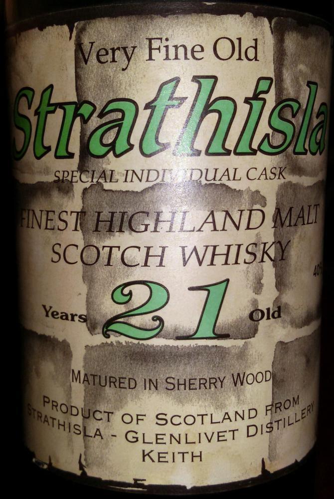 Strathisla 21-year-old